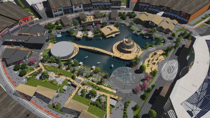 corvin cristian   Shopping mall Concept in Russian Federation