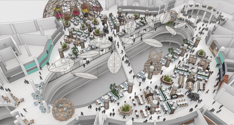 corvin cristian   Concept for Palladium Mall Istambul